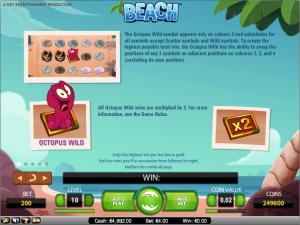 online kolikkopelit Beach, Net Entertainment