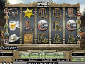 online kolikkopelit Dead or Alive, Net Entertainment