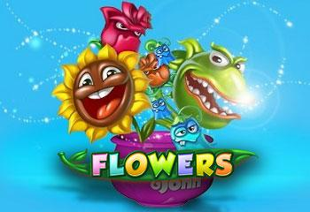 online kolikkopelit Flowers, Net Entertainment