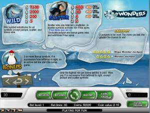 online kolikkopelit Icy Wonders, Net Entertainment
