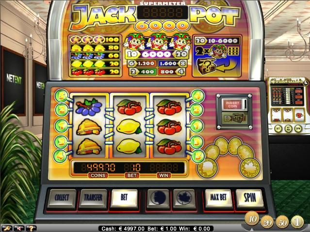 online kolikkopelit Jackpot 6000, Net Entertainment