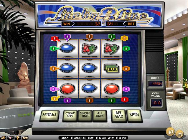 online kolikkopelit Lucky 8 Line, Net Entertainment