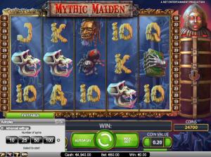 online kolikkopelit Mythic Maiden, Net Entertainment
