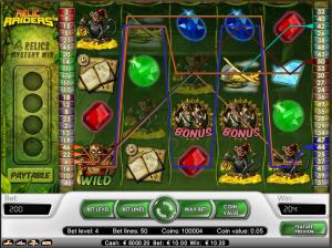 online kolikkopelit Relic Raiders, Net Entertainment