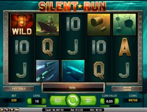 online kolikkopelit Silent Run, Net Entertainment