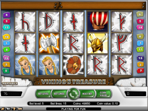 online kolikkopelit Viking's Treasure, Net Entertainment