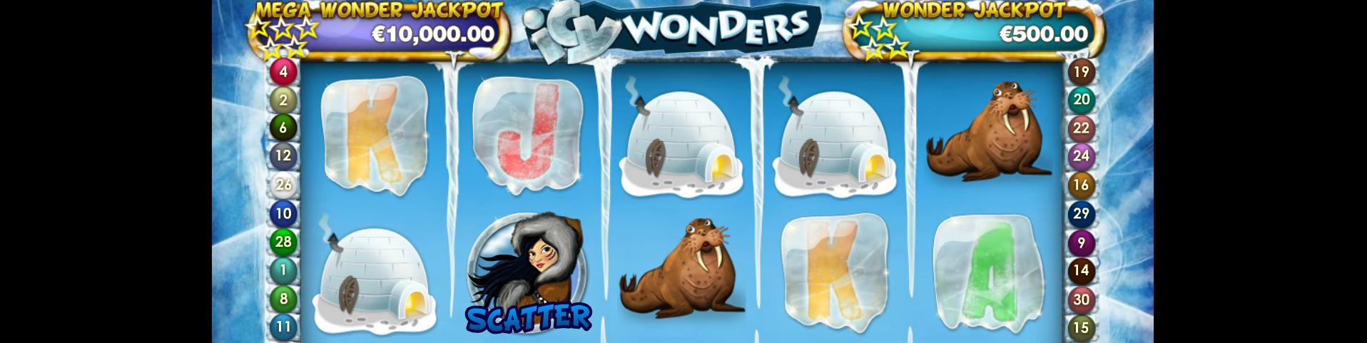 icy wonders netent kolikkopelit toripelit