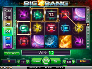 Big Bang NetEnt   kolikkopelit toripelit screenshot