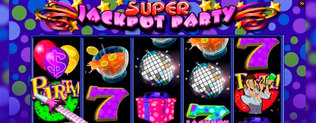 Jackpot Party WMS Gaming Slots kolikkopelit toripelit slider