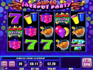 Jackpot Party WMS Gaming Slots kolikkopelit toripelit ss