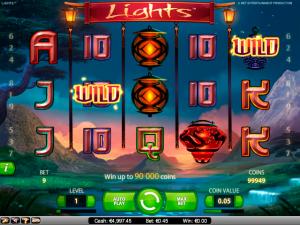 Lights NetEnt   kolikkopelit toripelit screenshot