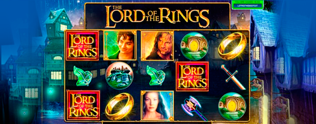 Lord Of The Rings Microgaming kolikkopelit toripelit slider