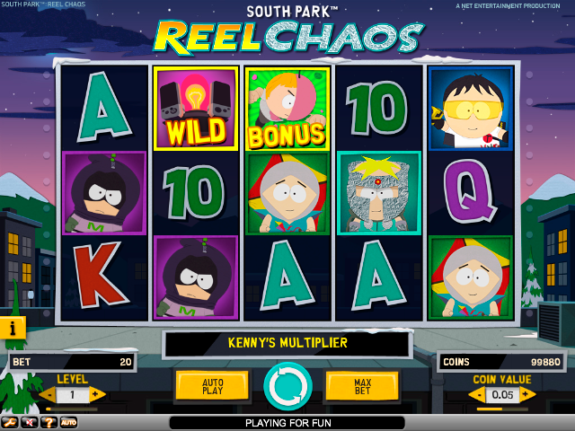 South Park: Reel Chaos NetEnt kolikkopelit toripelit screenshot