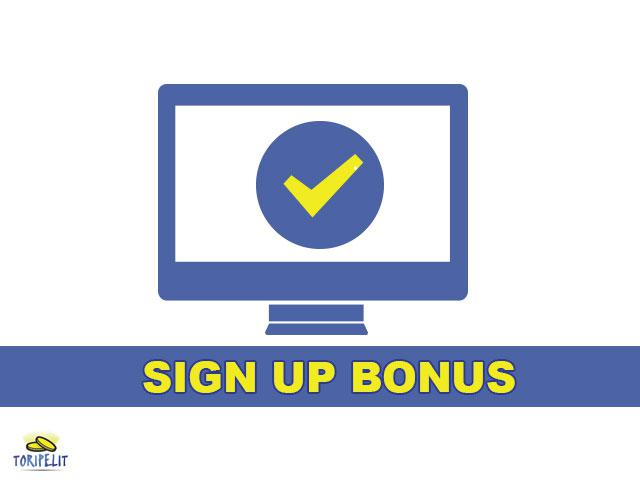 TP SIGN UP BONUS 1