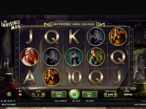 The Invisible Man NetEnt kolikkopelit toripelit screenshot