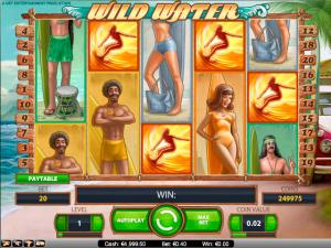 Wild Water NetEnt kolikkopelit toripelit screenshot