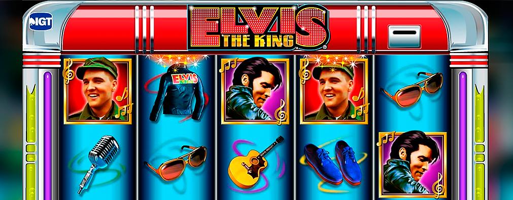 Elvis IGT kolikkopelit toripelit slider