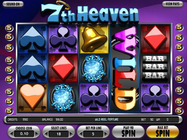 7th Heaven Betsoft kolikkopelit toripelit ss