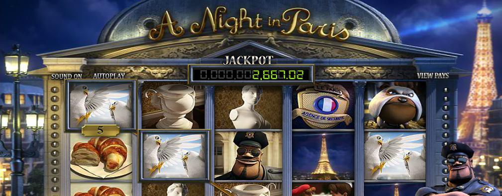 A Night in Paris JP Betsoft Kolikkopelit toripelit slider