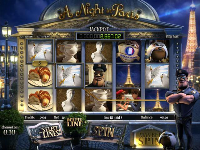A Night in Paris JP Betsoft kolikkopelit toripelit ss