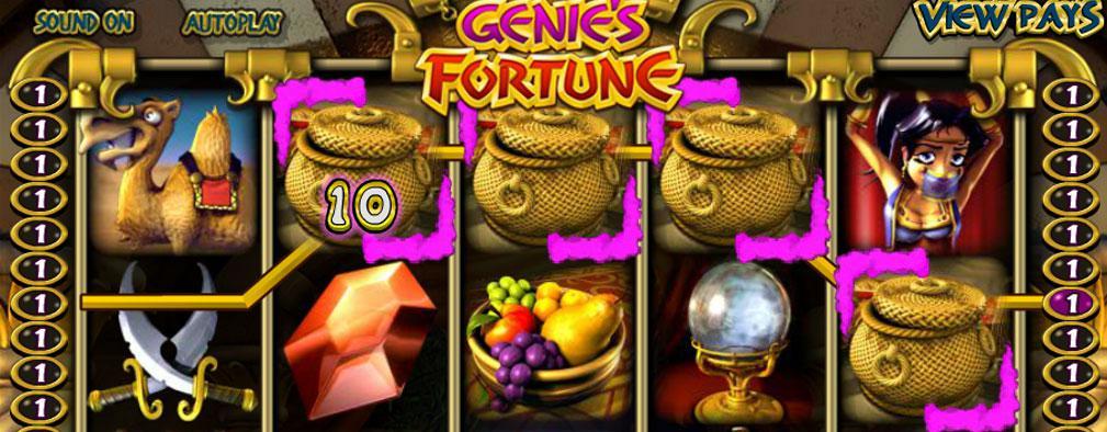 Genie's Fortune Betsoft Kolikkopelit toripelit slider