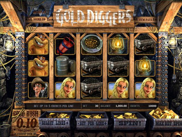 Gold Diggers Betsoft kolikkopelit toripelit ss