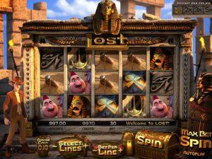 Lost Betsoft kolikkopelit screenshot