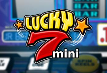 Lucky 7 Mini Betsoft kolikkopelit thumbnail