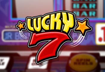 Lucky Seven Betsoft kolikkopelit thumbnail
