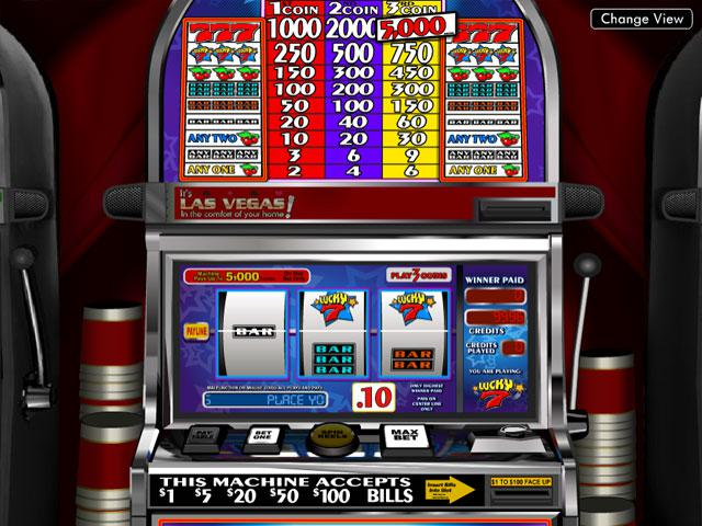 Lucky Seven Betsoft kolikkopelit screenshot