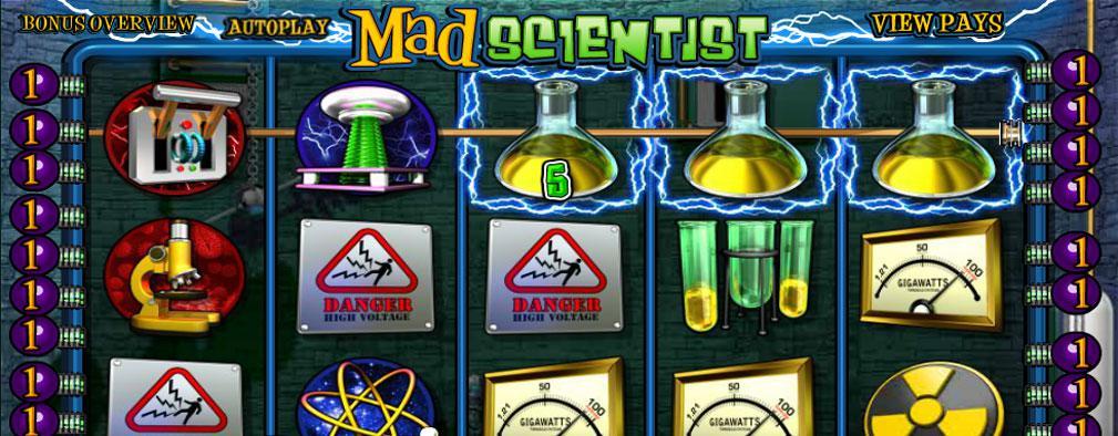 Mad Scientist Betsoft kolikkopelit slider
