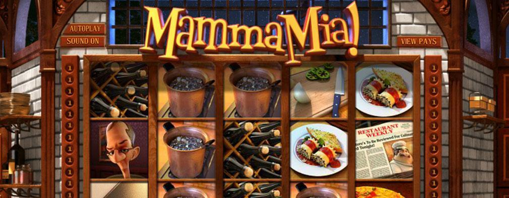 Mamma Mia Betsoft kolikkopelit slider