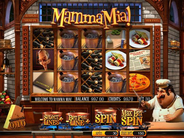 Mamma Mia Betsoft kolikkopelit screenshot