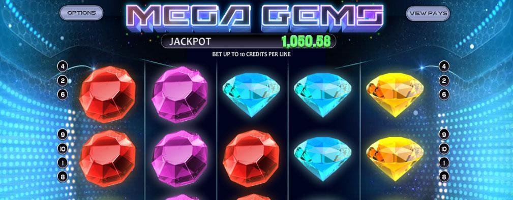 Mega Gems Betsoft kolikkopelit slider