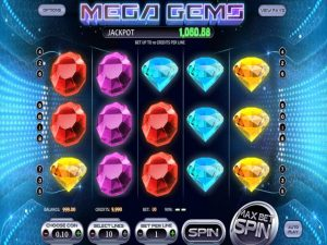 Mega Gems Betsoft kolikkopelit screenshot