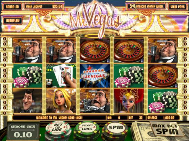 Mr. Vegas Mini Betsoft kolikkopelit screenshot