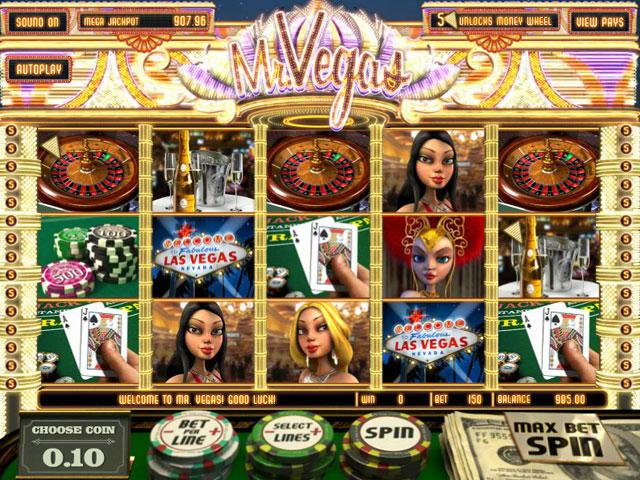 Mr. Vegas Betsoft kolikkopelit screenshot