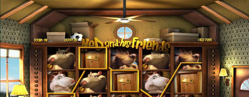 Ned and his Friends Betsoft kolikkopelit slider