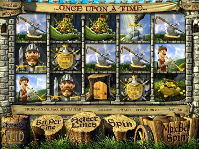 Once Upon A Time Betsoft kolikkopelit screenshot