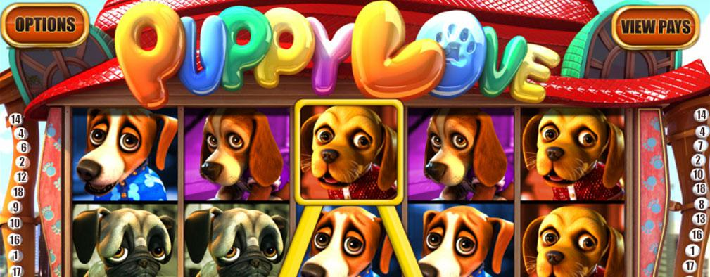 Puppy Love Plus Betsoft kolikkopelit slider