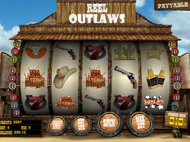 Reel Outlaws Betsoft kolikkopelit screenshot