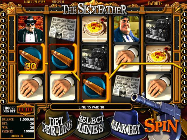 Slotfather JP Betsoft kolikkopelit screenshot