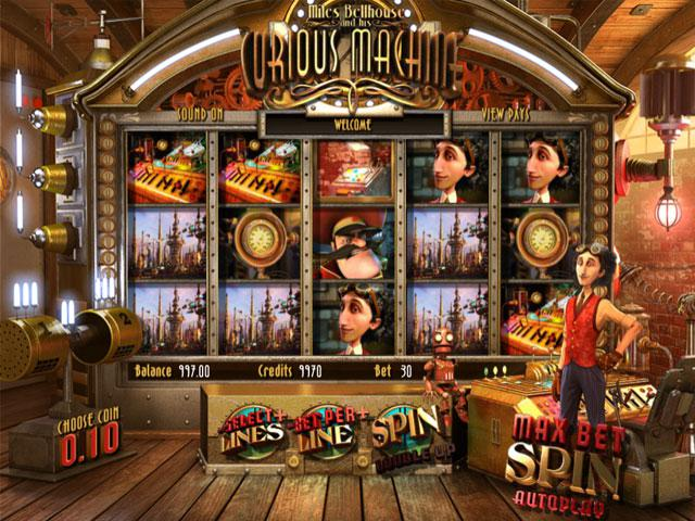 The Curious Machine Plus Betsoft kolikkopelit screenshot