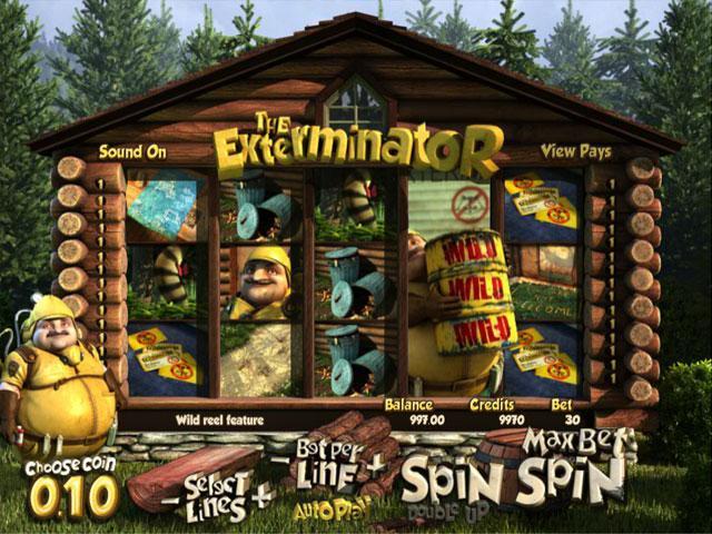 The Exterminator Betsoft kolikkopelit screenshot