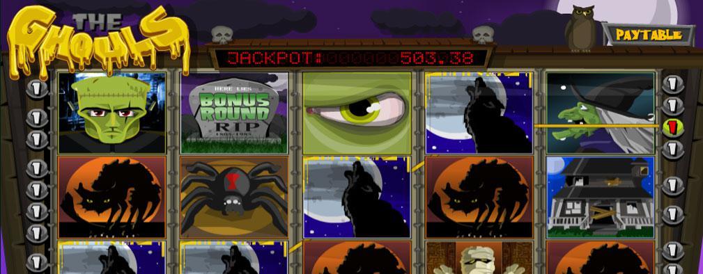 The Ghouls Betsoft kolikkopelit slider
