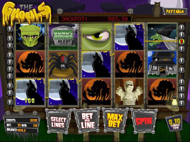 The Ghouls Betsoft kolikkopelit screenshot