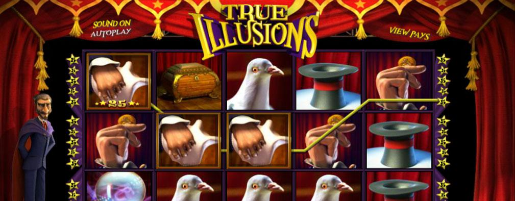 True Illusions Betsoft kolikkopelit slider