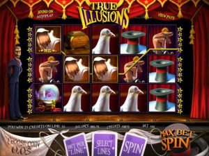 True Illusions Betsoft kolikkopelit screenshot