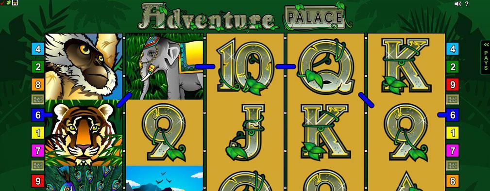 Adventure Palace Microgaming kolikkopelit slider