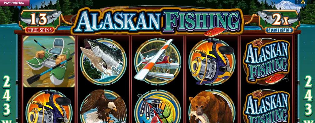 Alaskan Fishing Microgaming kolikkopelit slider